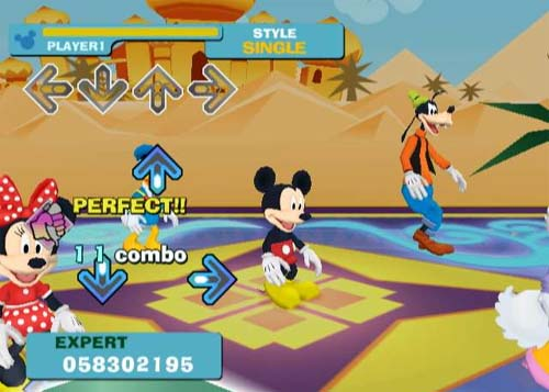 Dance Dance Revolution Disney Grooves Wii Game Review