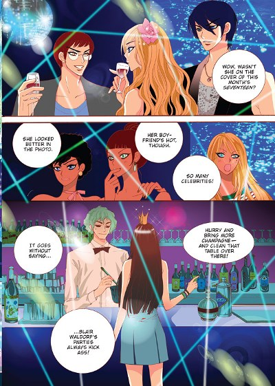 gossip girl manga version sneak peek