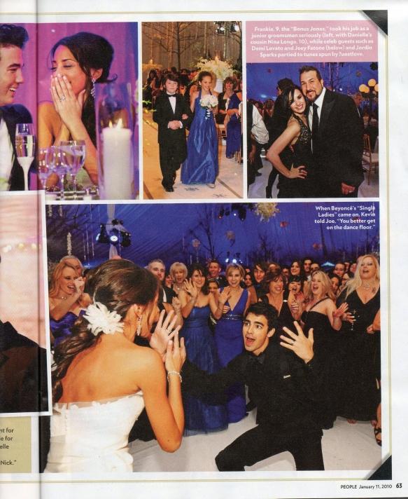 Kevin Jonas Wedding Reception