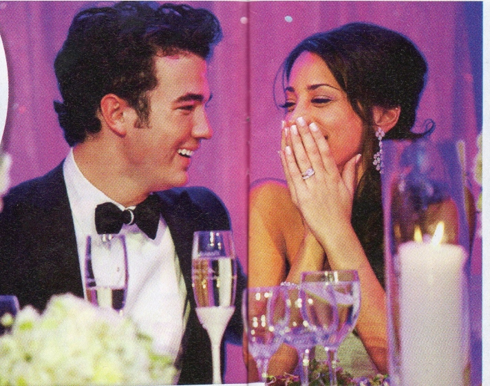 Kevin and Danielle Jonas - Wedding Day Fantasy