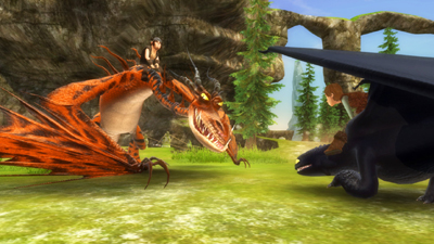 how to train your dragon the video game