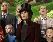 Johnny Depp stars in this version of Charlie & the Chocolate Factory.