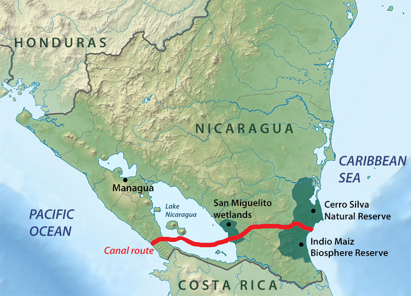 Dilogo Chino Nicaragua Canal A Giant Project With Huge