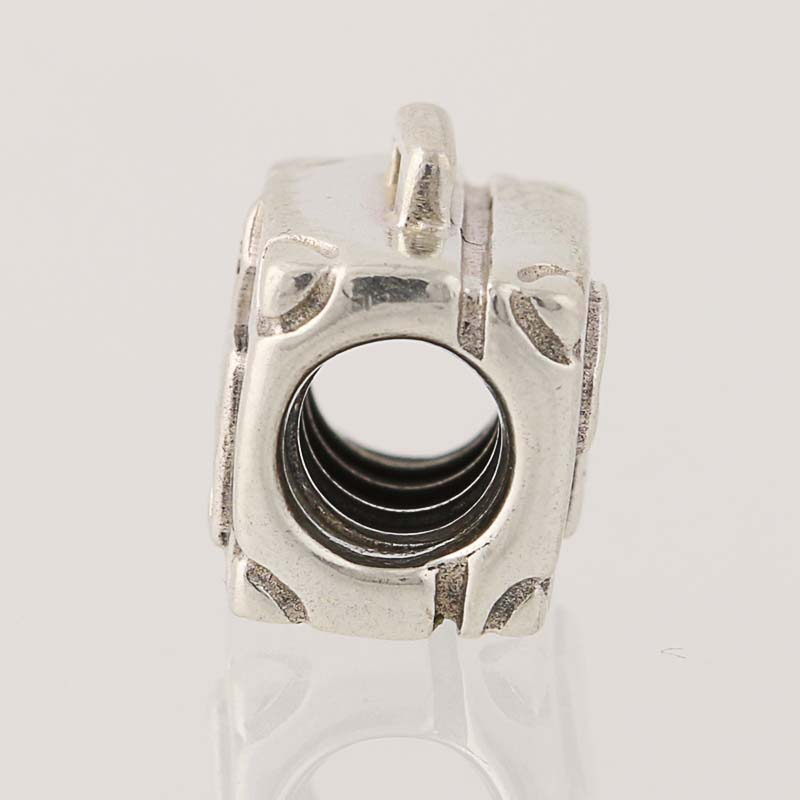pandora suitcase bead charm sterling silver suitcase