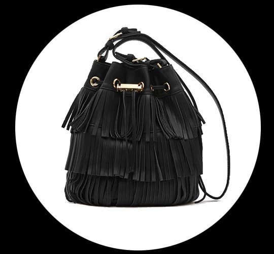 A Retro Collection Of Fringed Bags