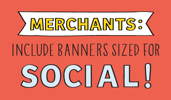 3 Reasons to Add Banners Sized for Social Media