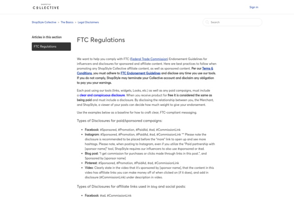 FTC Regulations