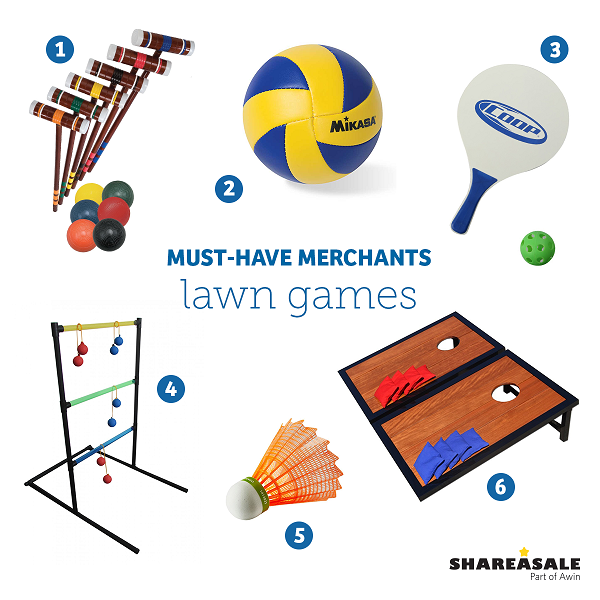 Must-Have Merchants: Lawn Games