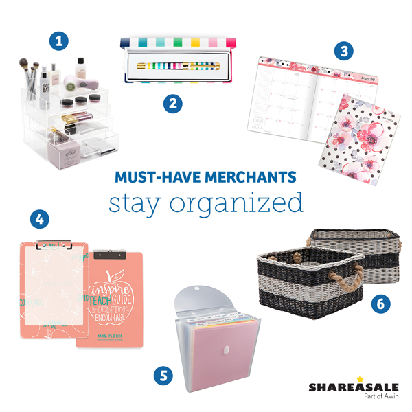 Must-Have Merchants: Stay Organized