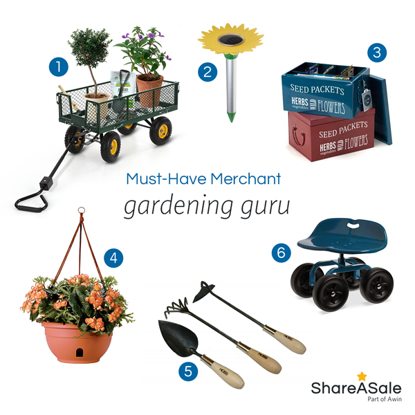 Must-Have Merchants: Gardening Guru