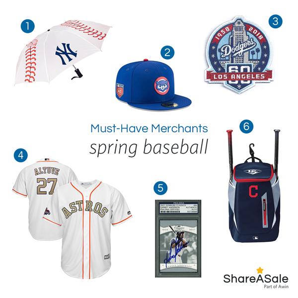 Must-Have Merchants: Spring Baseball