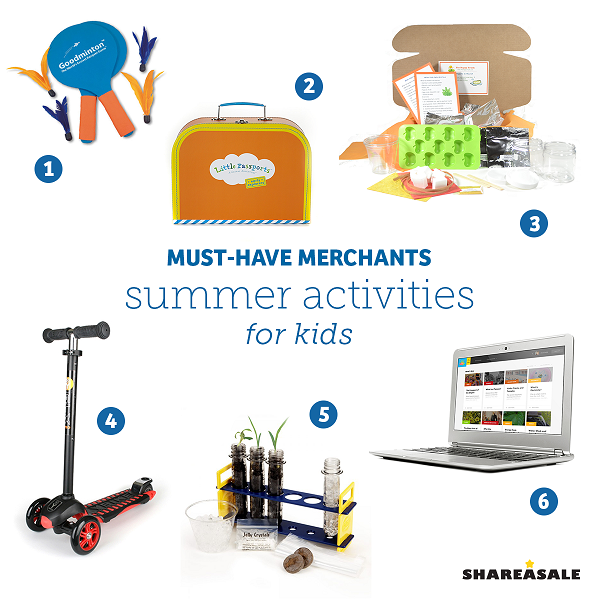 Must-Have-Merchants: Summer Activities For Kids