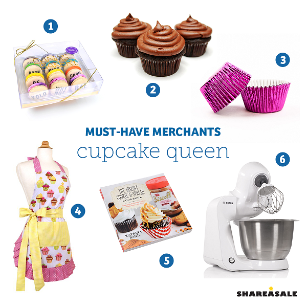 Must-Have-Merchants: Cupcake Queen - ShareASale Blog