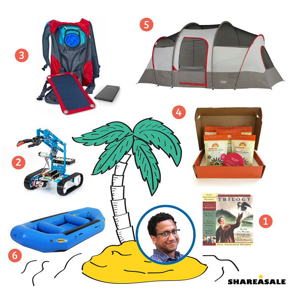If I Were Stranded on a Desert Island, I Would Bring... - ShareASale Blog