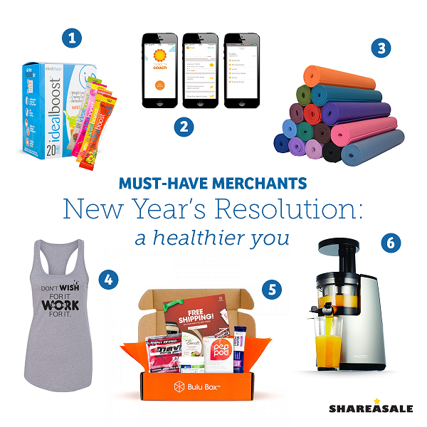 Must-Have-Merchants: New Year's Resolution - A Healthier You!