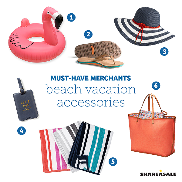 Must-Have-Merchants: Beach Vacation Accessories