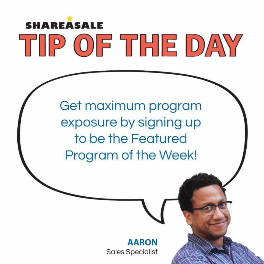 Tip of the Day: Program Boosts - Featured Program of the Week