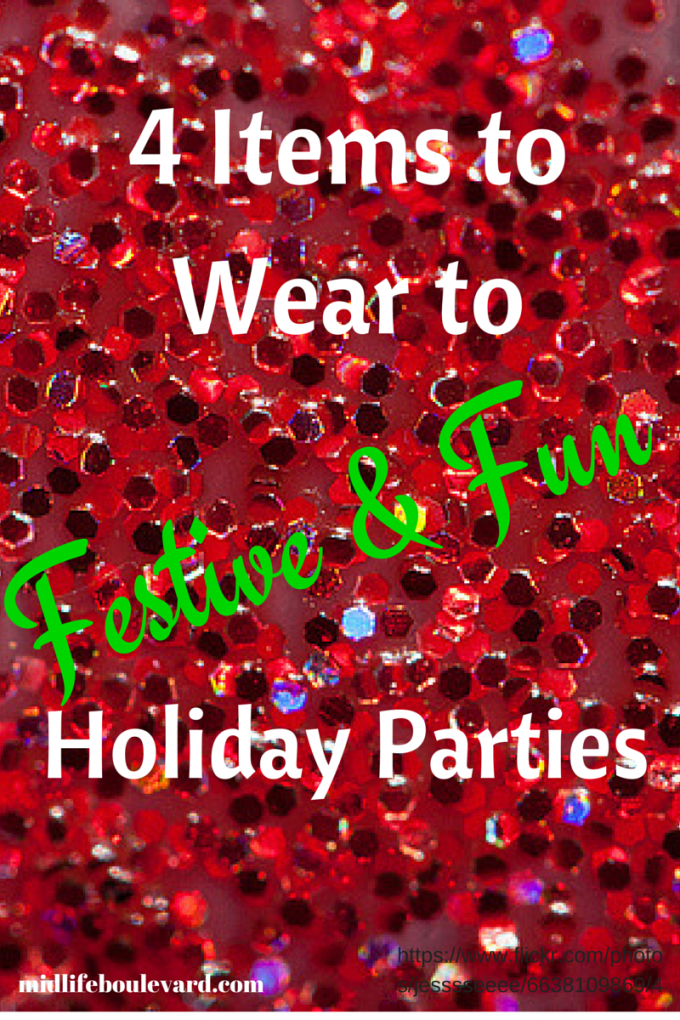 4 Items to Wear to Festive and Fun Holiday Parties
