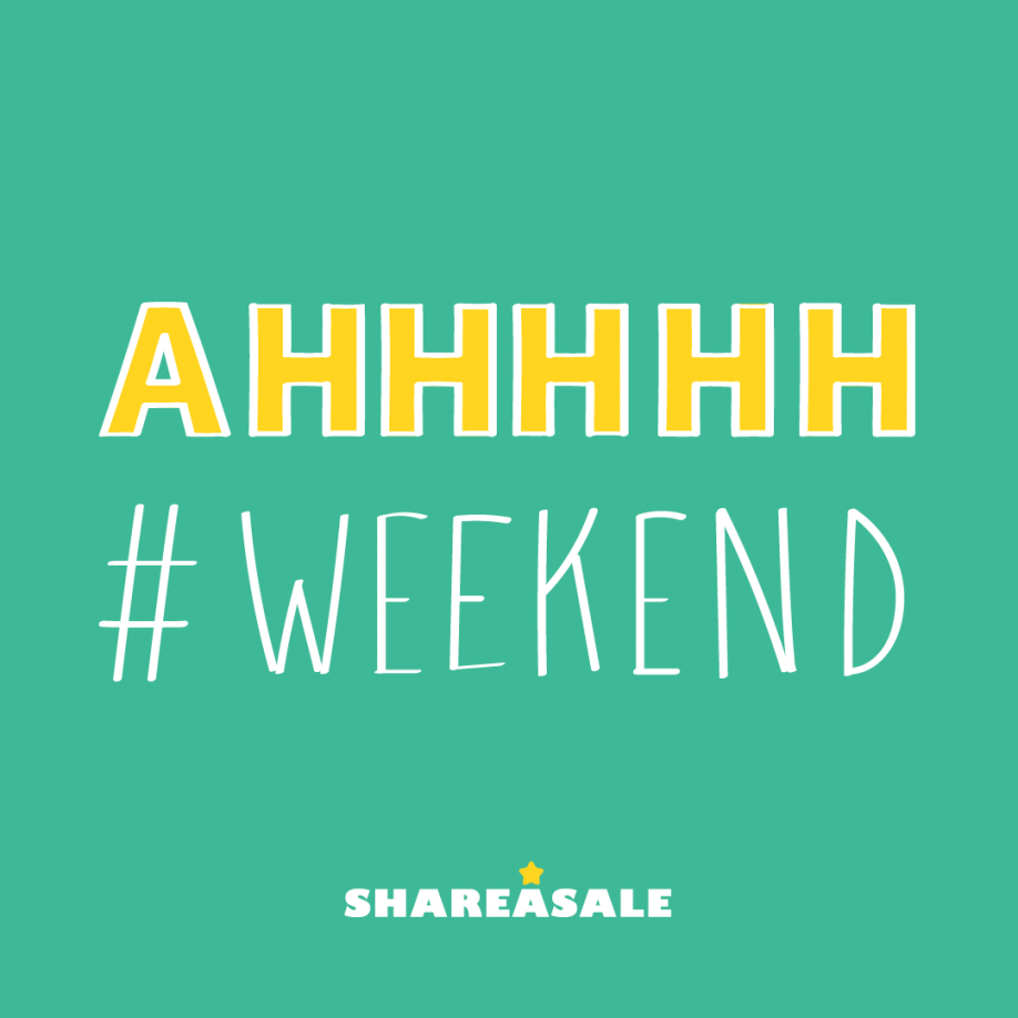 Subscribe to the Perfect Weekend - ShareASale Blog