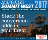 Affiliate Summit West 2017 Preview - Part 1