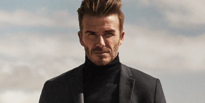 David Beckham Just Gets Sweeter And Cooler