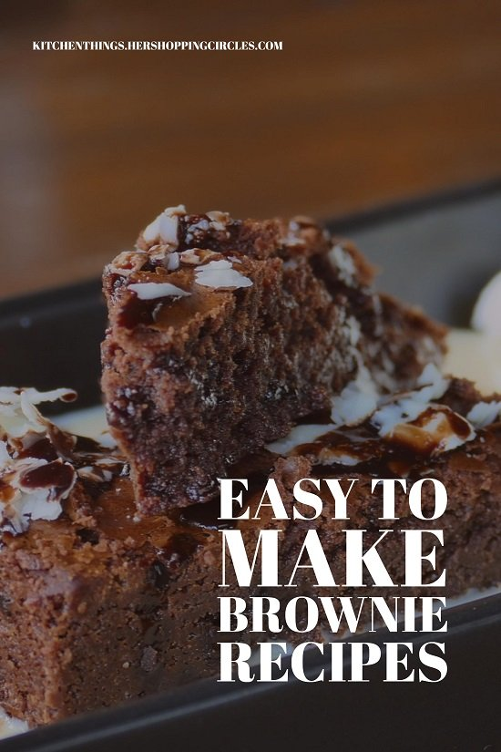 Easy to Make Brownie Recipes