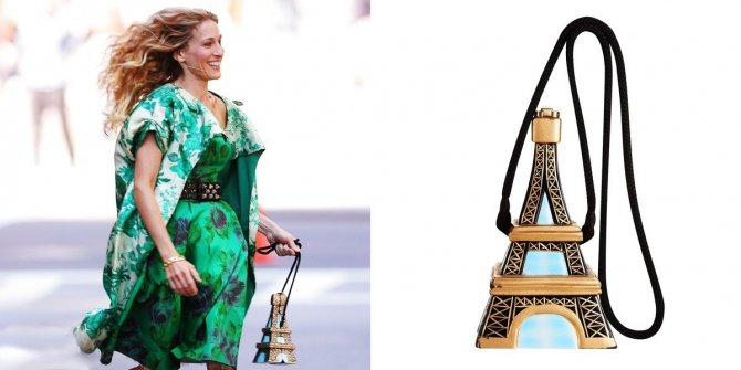 An Actual Eiffel Tower Bag!