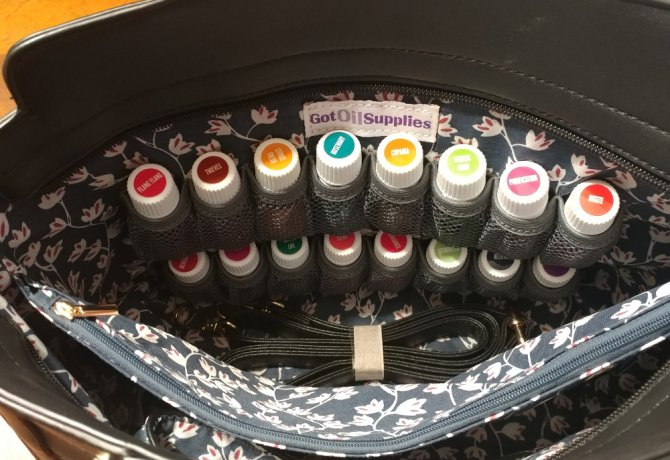 A Designer Purse for My Essential Oils