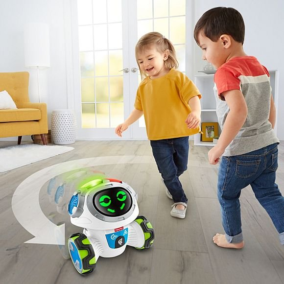 A Robot That Keeps Toddlers Learning & Moving
