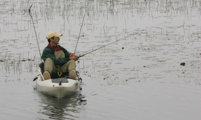 Using a Fish Finder On the Water