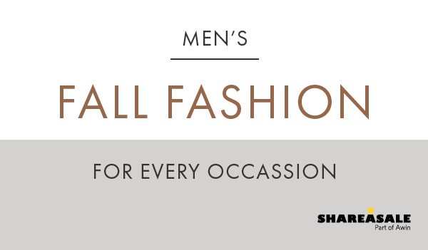 #FunFriday: Fall Fashion Trends For Men