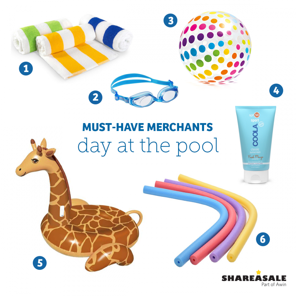 Must-Have-Merchants: Day at the Pool