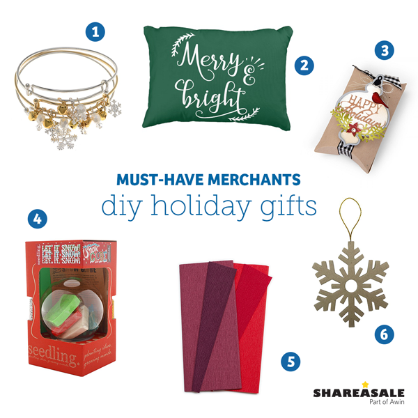 Must-Have Merchants: DIY Holiday Gifts