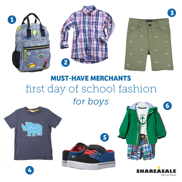 Must-Have Merchants: First Day of School Fashion For Boys
