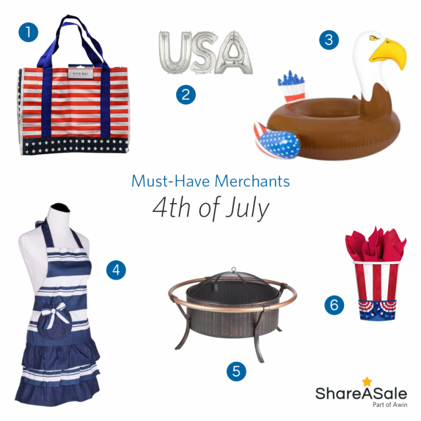 Must-Have Merchants: 4th of July