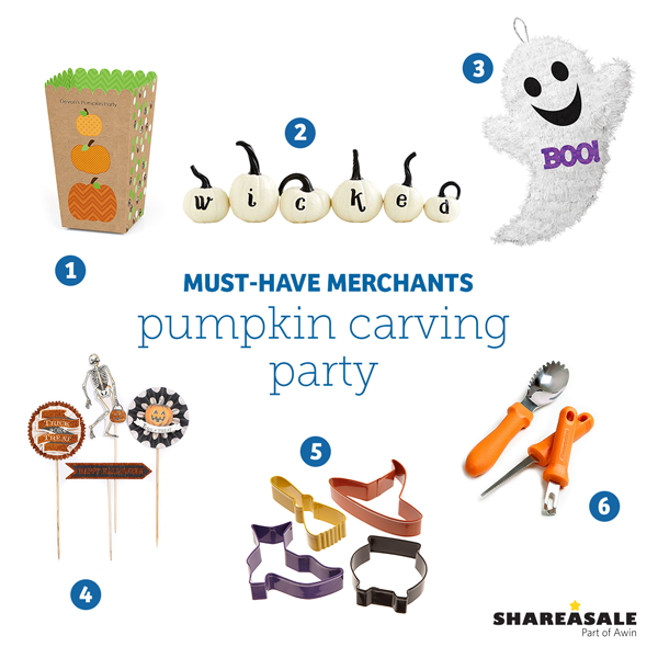 Must-Have Merchants: Pumpkin Carving Party