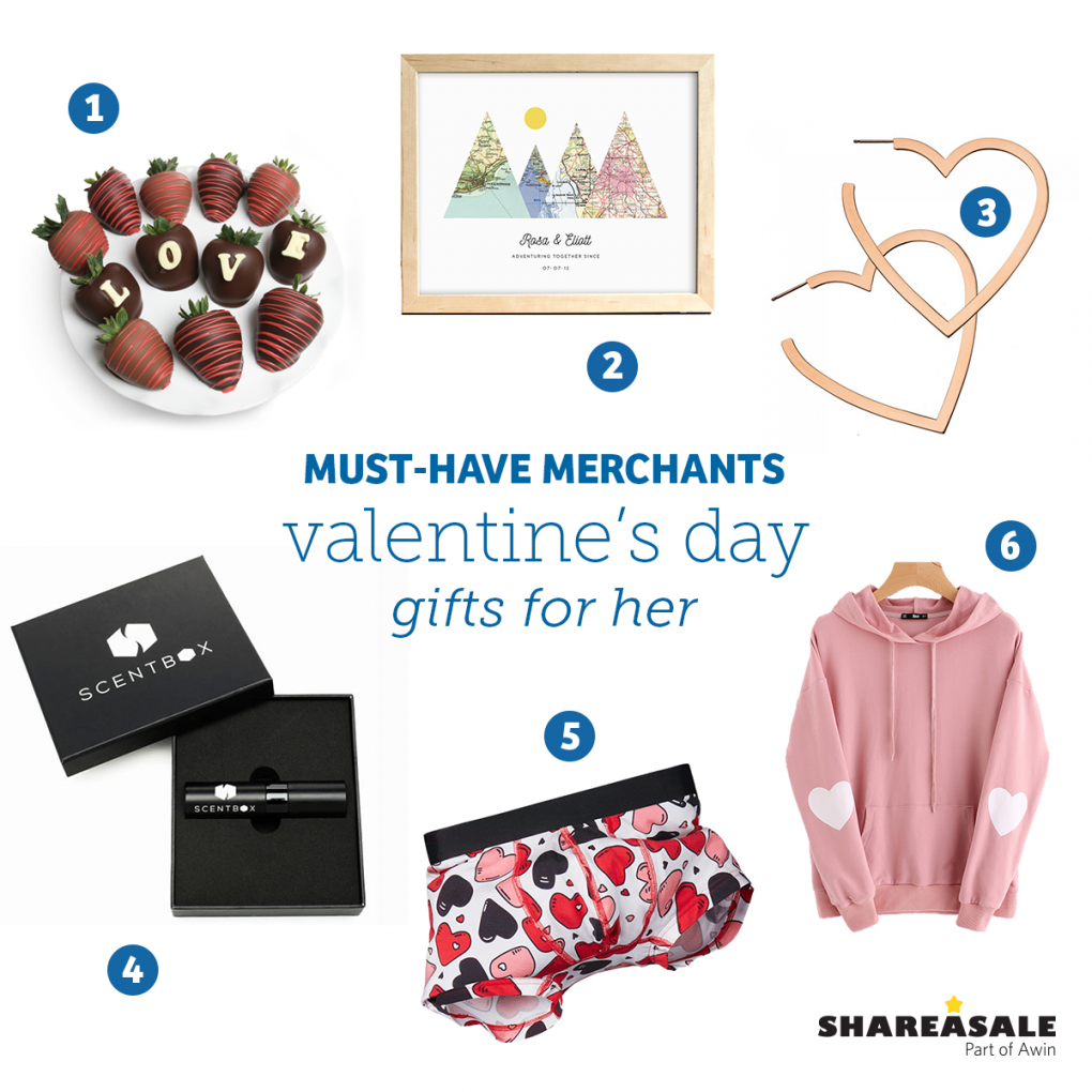 Must-Have Merchants: Valentine's Day Gift Ideas For Her