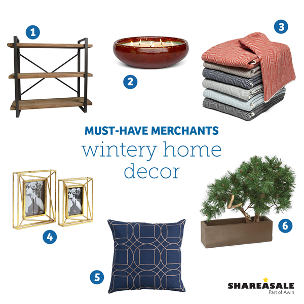 Must-Have Merchants: Winter Home Decor
