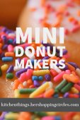 Mini Donut Makers - Easy Ways to Make Mini Donuts