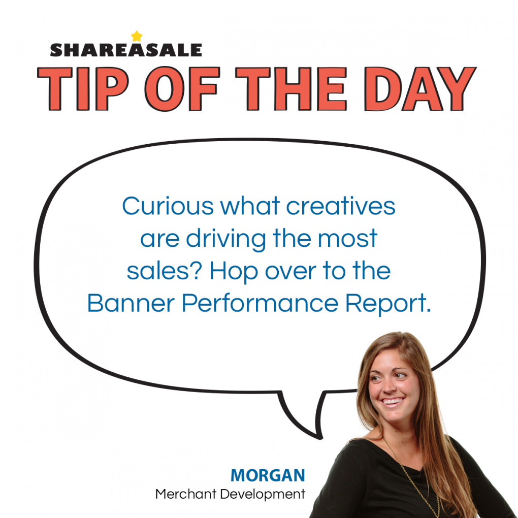 Tip of the Day: Banner Performance Report