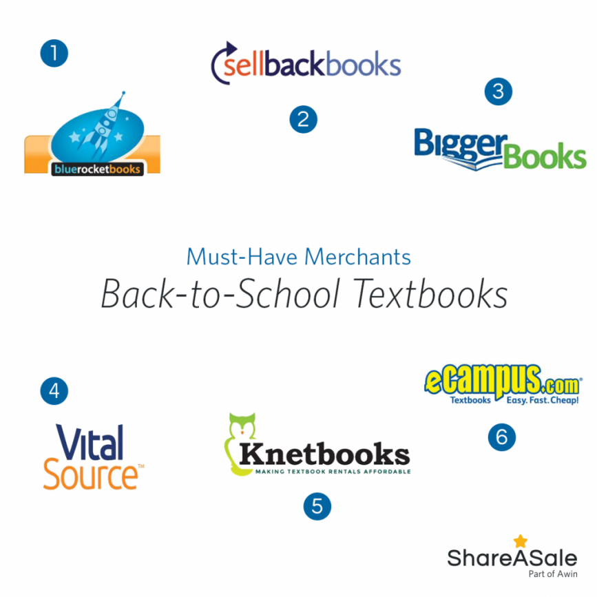 Must-have Merchants: Back-to-School Textbooks