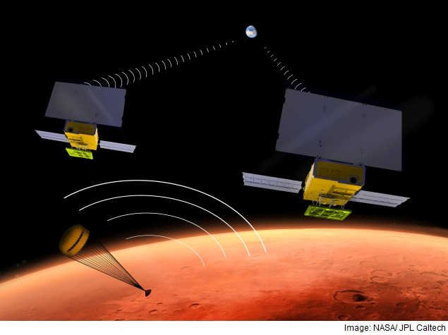 Nasa's InSight Mars Lander To Carry CubeSats