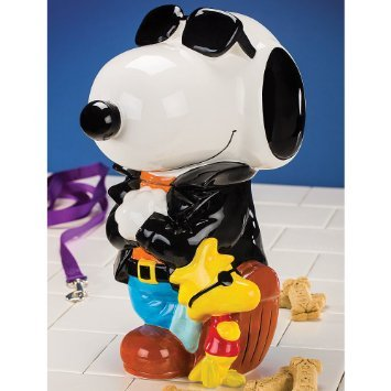 Peanuts Joe Cool Ceramic Cookie Jar
