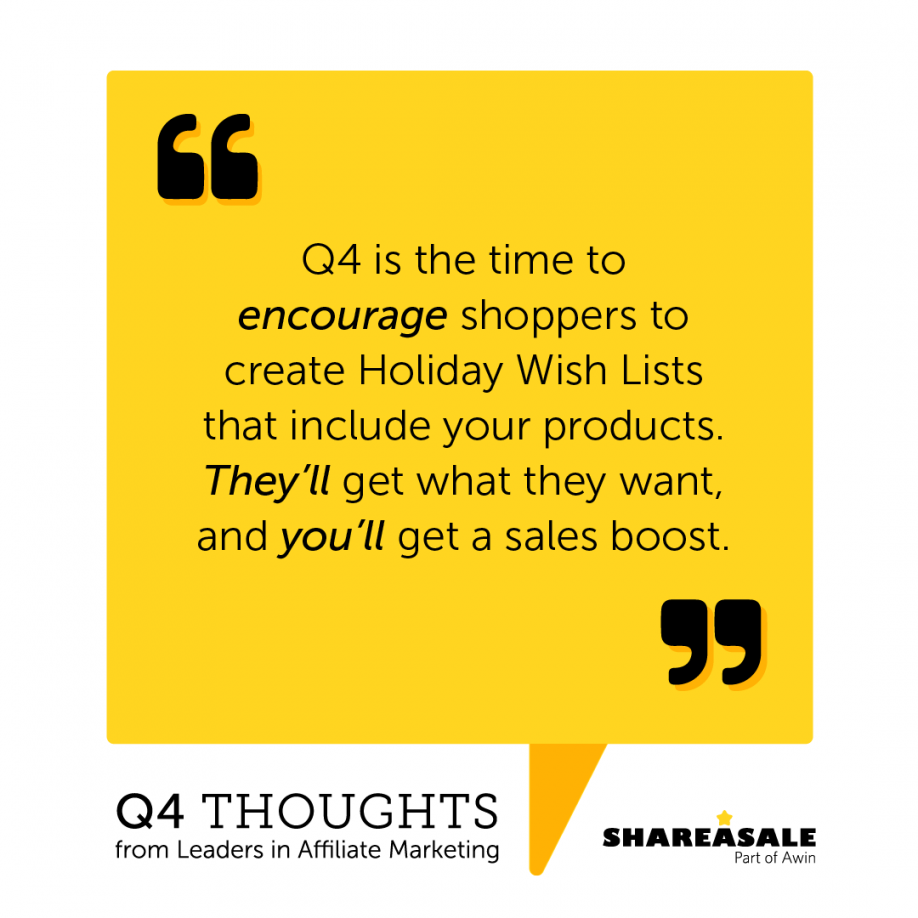 Q4 Thoughts: Holiday Gift Guides Can Help Boost Sales