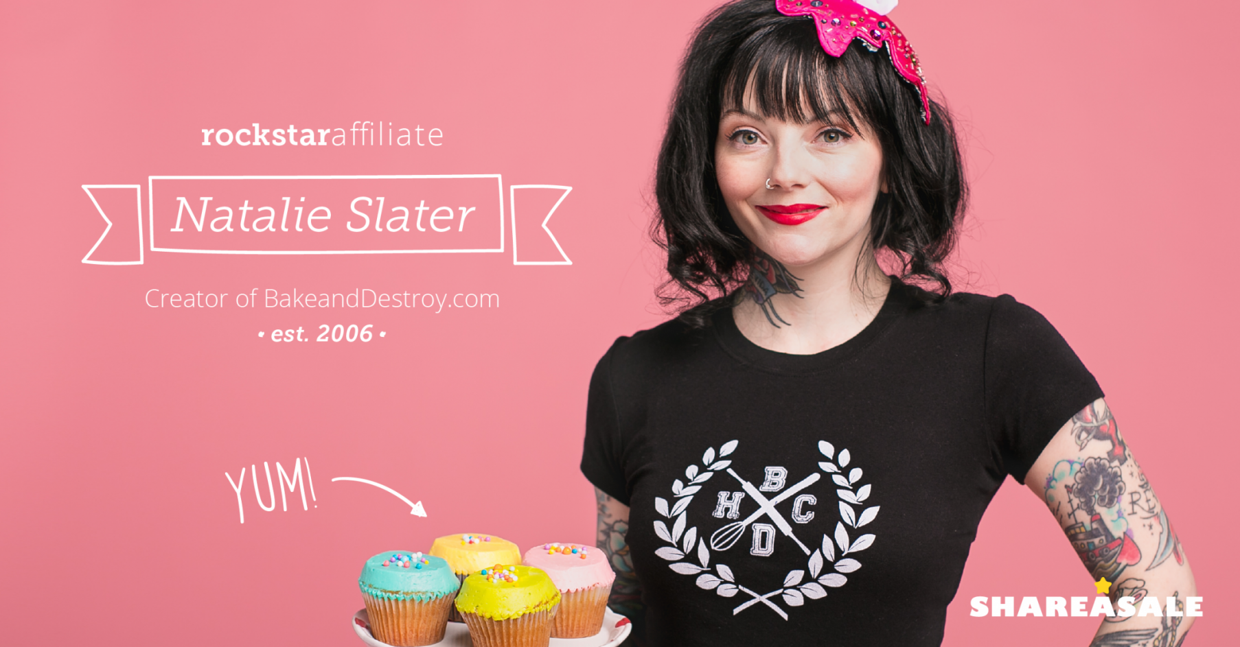 Rockstar Affiliate: Natalie Slater of BakeandDestroy.com - ShareASale Blog