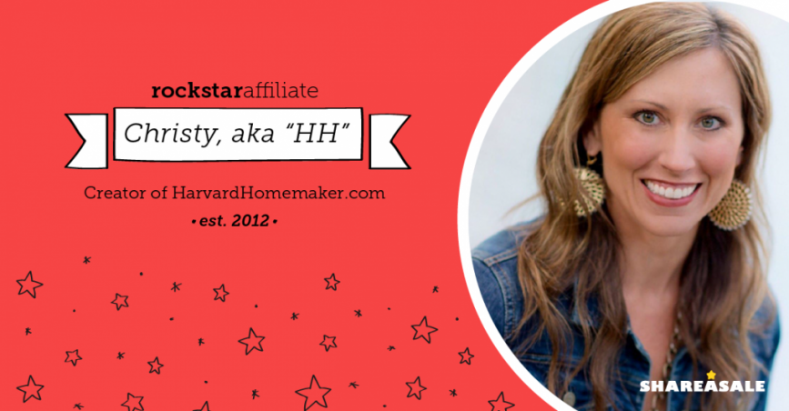 Rockstar Affiliate: Harvard Homemaker