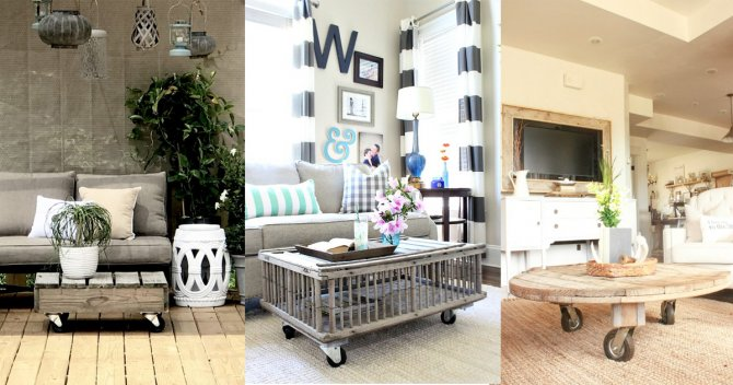 10  Beautiful Rustic Coffee Table Ideas