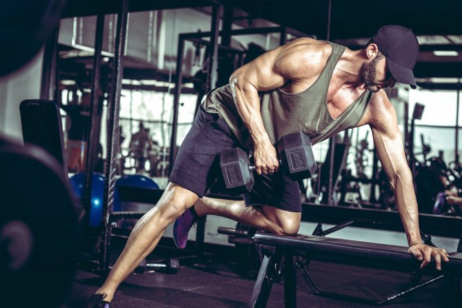 The Tension Weightlifting workout