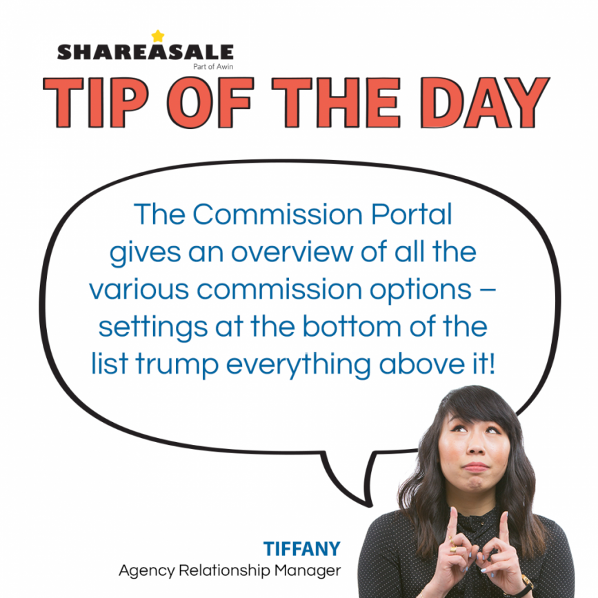 Tip of the Day: The Commission Hierarchy