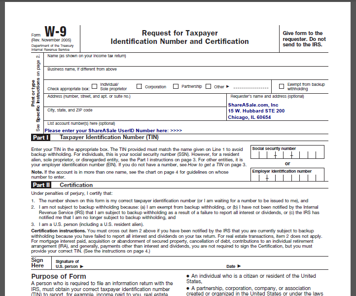 IRS Form W9  What It Is and How to Fill It Out